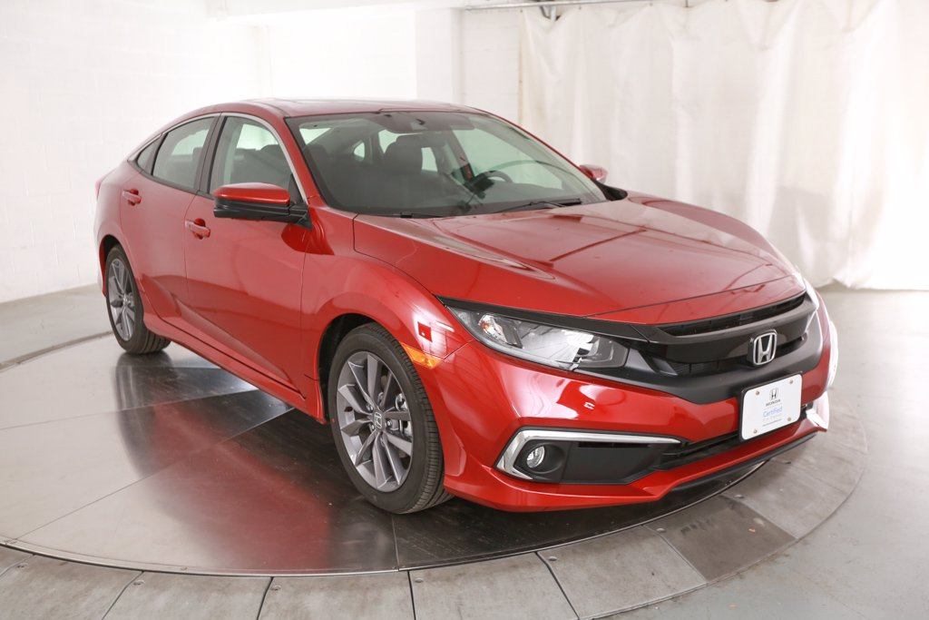 Certified Pre-Owned 2020 Honda Civic EX