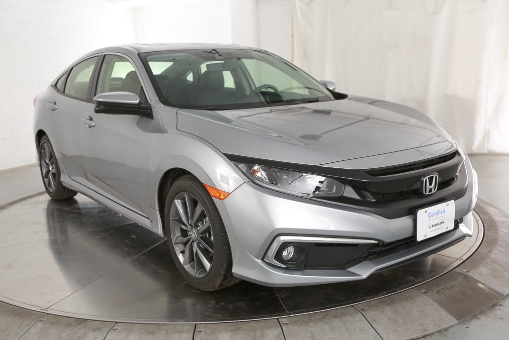 Certified Pre-Owned 2019 Honda Civic EX-L