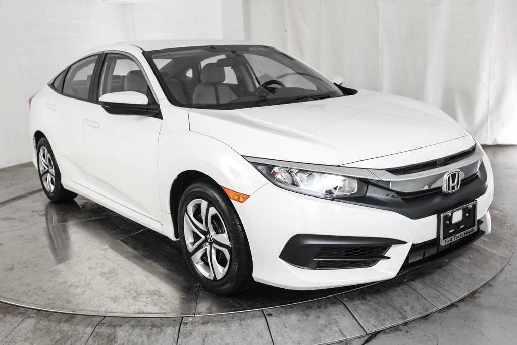 Exceptional Certified Pre Owned 2018 Honda Civic LX
