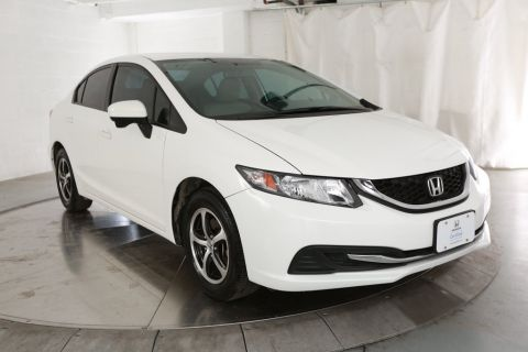 Certified Pre-Owned 2015 Honda Civic SE